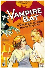 The Vampire Bat 1933 Lionel Atwill, Fay Wray,  Horror DVD