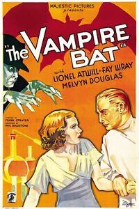 The Vampire Bat 1933 Lionel Atwill, Fay Wray,  Horror DVD