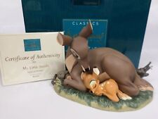 """WDCC Walt Disney Classics Collection """"My Little Bambi"""" Bambi and Mother MIB NEW"""
