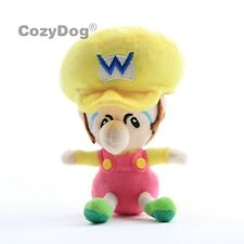 New Super Mario Brosthers Baby Wario Plush Toy Stuffed Doll 6'' Figure