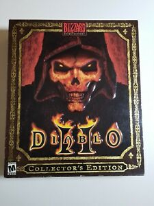 Very Rare Diablo 2 II Collector's Edition Big Box PC Dungeons Dragons BoardGame