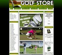 GOLF Website. Affiliate STORE+Amazon Store+Google Adsense+Dropship