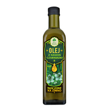OIL Nigella seeds cold pressed 100 ml black cumin OLEJ Z NASION CZARNUSZKI