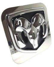 "Dodge Ram Emblem Tow Hitch Cover (Licensed 1 1/4"" Trailer Plug)"