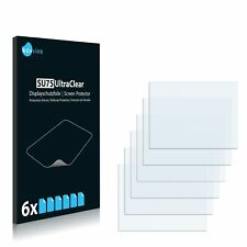 6x Hasselblad H4D-50MS Screen Protector Plastic Film Screen Guard Ultra Clear