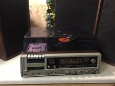 1978 Realistic Clarinette 101 Cassete Tape 8 Track Record Player With Speakers