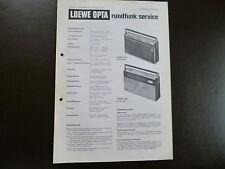 Original Service Manual  Loewe Opta T97 T95