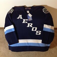 RARE New w/Tags Houston Aeros Hockey Jersey Sz XL AHL SP WHA