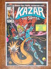 Ka-Zar the Savage 34 VF to VF+ Last Issue