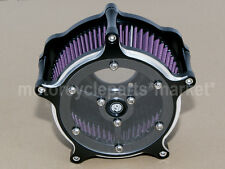 CNC RSD Air Cleaner Edge Cut Intake Kit F Harley Sportster Iron 883 48 72 10-14