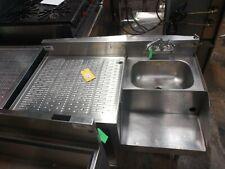 Krown 1 Compartment Bar Sink with Blender Station.