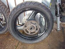 Suzuki GS500F  Rear Wheel with brake disc and Sprocket , 130/70-17 tyre