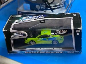 Greenlight Fast and Furious 1:43 Scale Brian's 1995 Mitsubishi Eclipse