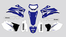 YAMAHA BLUE WR450F-250F 2007-2011 DECAL STICKER GRAPHIC KIT