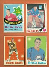 1969 OPC EXMT * GORDIE HOWE * All-Star #215 O-Pee-Chee Detroit Red Wings 1969-70
