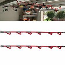 Ceiling Rack & Wall Fishing Rod Rack Fit Garage Basement,camper,Boathouse,Truck