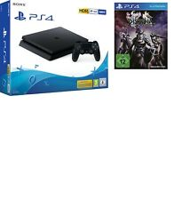SONY PLAYSTATION 4 PS4 CONSOLE 500GB CHASSIS F SLIM HDR NUOVO NERO + DISSIDIA