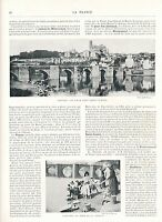 Vienne L'Indre L'Allier 1900 guide orig. 33 Photos Chinon Limoges Loches Thiers