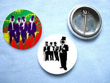 The Residents-Set Of 2 Badges Eno Punk Sex Pistols Devo
