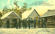 Chattanooga,TN.Gen Joseph Hooker & Staff in Winter Quarters in Lookout Valley