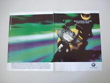 advertising Pubblicità 1998 MOTO BMW K1200 K 1200 RS