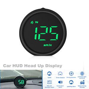 Car HUD Head Up Display Digital GPS Smart Speedometer Scanner KM/H MPH Dashboard