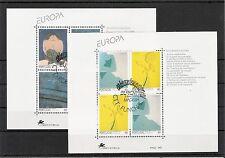 Europa CEPT 1993, Azoren, Madeira, 2 Block`s gestempelt, KW 21,00€