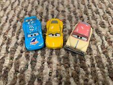 Disney Cars Mini Racers Louise Nash, The King, Cruz Ramirez Blind Box lot