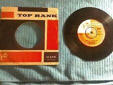 "7"" Record Heart of a Teenage Girl by Craig Douglas.Top Rank Records 1960 Jar 340"