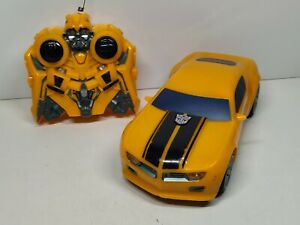 Hasbro Transformer Bumblebee RC Car Lights & Sounds 2008 Hard To Find!