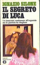 IL SEGRETO DI LUCA - IGNAZIO SILONE - MONDADORI 1969