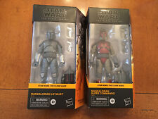 Star Wars Black Series Mandalorian Super Commando And Loyalist Lot Of 2