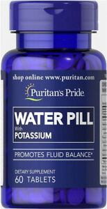 WATER PILL with POTASSIUM 60 Tablets  PURITAN'S PRIDE