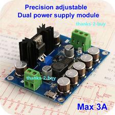 USB Single Power to Dual Power Supply Module 3-18V ±9V ±15V Adjustable Regulator