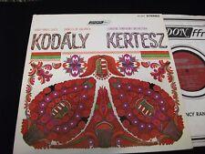 MUSIC OF KODALY<>ISTVAN KERTESZ<>Lp VINYL~UK Pressing~LONDON CS 6417