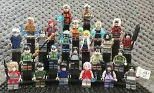 LES NINJAS DE KONOHA ET LEURS ALIÉS !! 24 jolies figurines neuves de NARUTO !!!