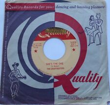 *THE CHARTBUSTERS She's the one VG++ CANADA ORIG 1964 ROCKABILLY QUALITY 45