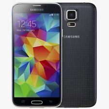 Samsung Galaxy S5 Sm-G900F Nero (Sbloccato) Smartphone 4G NUOVO 90 giorni di gar