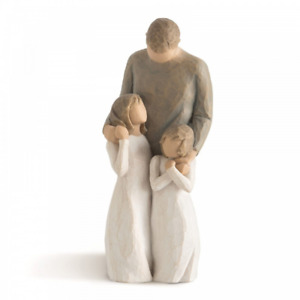 Willow Tree My Girls 26232 father Daughter Figure Figurine Gift Brand New Boxed