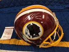 ROBERT GRIFFIN III RG3 Autographed Signed Full Size Redskins Helmet JSA COA