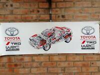 Toyota Celica GT4 ST185 wrc trd large pvc  WORK SHOP BANNER garage