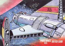 Gerry Anderson's Fireball XL5 Rare Graham Bleathman Sketch Card