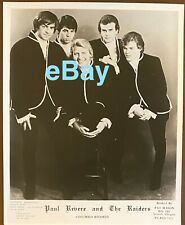 RARE *original* 1965 Revere Raiders Mark Lindsay Promo Pic AUTOGRAPHED to YOU 3