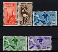 P131721/ ITALY / SASSONE # 357 / 361 MINT MH COMPLETE - CV 180 $