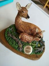Deer Fawn Figurine National Wildlife Federation Novelino Limited Edition 1992