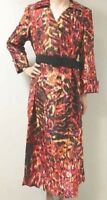 size 12 Belted Kalina Dress Church Career Wear by Ashro new