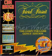 Trivial Pursuit (HIT SQUAD) AMIGA GAME-SLIM BOX-GC & COMPLETA