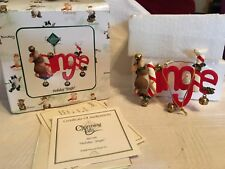"Charming Tails ""Holiday Jingle"" Dean Griff Nib Ornament"