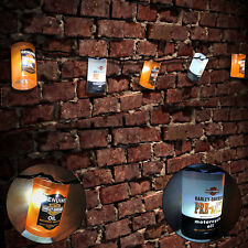 Harley Davidson Oil Can Party Christmas Lights Man Cave HDL-10021