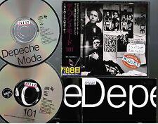 DEPECHE MODE 101 JAPAN 2CD Alfa 38B2-14/15 2nd issue w/OBI+Booklet  ex-Rental